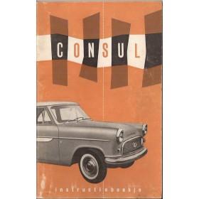 Ford Consul Instructieboekje   Benzine Fabrikant 59 ongebruikt   Nederlands