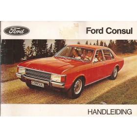 Ford Consul Instructieboekje   Benzine Fabrikant 72 ongebruikt   Nederlands