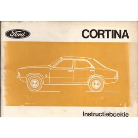 Ford Cortina Instructieboekje  Mk3 Benzine Fabrikant 71 met gebruikssporen   Nederlands