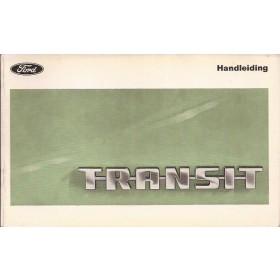 Ford Transit Instructieboekje   Benzine Fabrikant 69 ongebruikt   Nederlands
