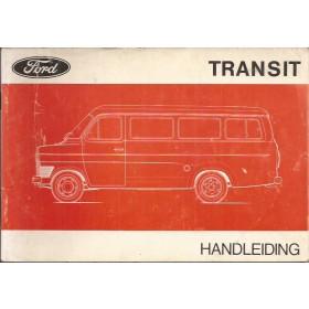 Ford Transit Instructieboekje   Benzine Fabrikant 71 met gebruikssporen   Nederlands