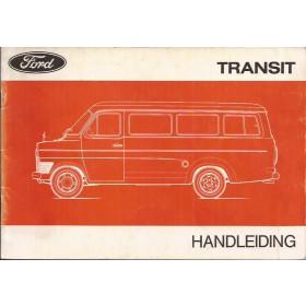 Ford Transit Instructieboekje   Benzine/Diesel Fabrikant 75 met gebruikssporen   Nederlands