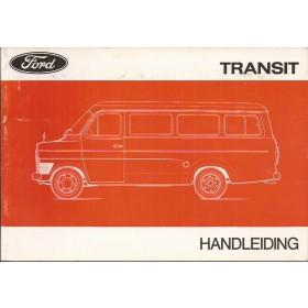 Ford Transit Instructieboekje   Benzine/Diesel Fabrikant 76 met gebruikssporen   Nederlands