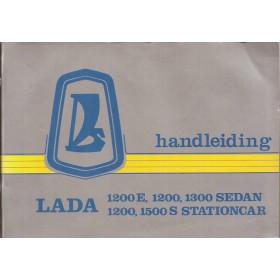 Lada 1200/1300/1500 Instructieboekje   Benzine Fabrikant 82 met gebruikssporen   Nederlands
