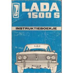 Lada 1500S Instructieboekje   Benzine Fabrikant 75 met gebruikssporen vlaamse editie  Nederlands