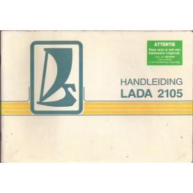 Lada 2105 Instructieboekje   Benzine Fabrikant 88 met gebruikssporen   Nederlands