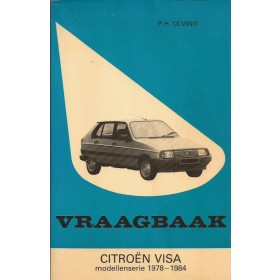 Citroen Visa Vraagbaak P. Olving  Benzine Kluwer 78-84 ongebruikt   Nederlands