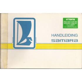Lada Samara Instructieboekje   Benzine Fabrikant 86 met gebruikssporen   Nederlands