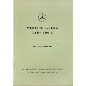 Mercedes-Benz 190b Instructieboekje   Benzine Fabrikant 60 ongebruikt   Nederlands