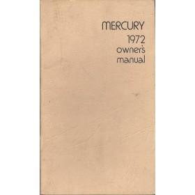Mercury Alle modellen Instructieboekje   Benzine Fabrikant 72 met gebruikssporen   Engels