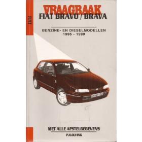 Fiat Bravo/Brava Vraagbaak P. Olving  Benzine/Diesel Kluwer 96-99 met gebruikssporen, ex-bibliotheek   Nederlands