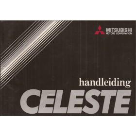 Mitsubishi Celeste Instructieboekje   Benzine Fabrikant 77 met gebruikssporen   Nederlands