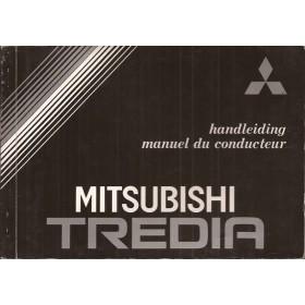 Mitsubishi Tredia Instructieboekje   Benzine Fabrikant 82 ongebruikt   Nederlands/Frans