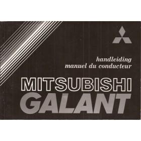 Mitsubishi Galant Instructieboekje   Benzine Fabrikant 81 ongebruikt   Nederlands/Frans