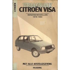 Citroen Visa Vraagbaak P. Olving  Benzine Kluwer 78-84 met gebruikssporen   Nederlands