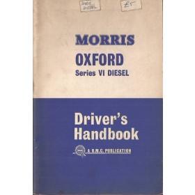 Morris Oxford Diesel Instructieboekje   Diesel Fabrikant 65 met gebruikssporen   Engels