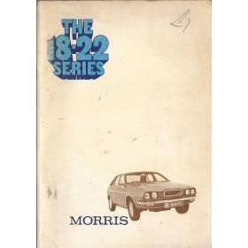 Morris 18-22 Instructieboekje   Benzine Fabrikant 74 met gebruikssporen   Engels