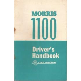 Morris 1100 Instructieboekje   Benzine Fabrikant 63 ongebruikt   Engels