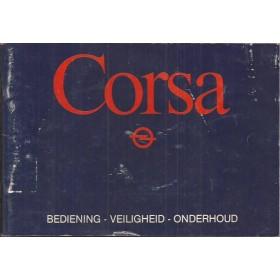 Opel Corsa A Instructieboekje   Benzine Fabrikant 83 met gebruikssporen   Nederlands