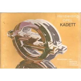Opel Kadett D Instructieboekje   Benzine Fabrikant 82 met gebruikssporen   Nederlands
