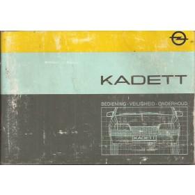 Opel Kadett E Instructieboekje   Benzine/Diesel Fabrikant 84 met gebruikssporen lichte vochtschade  Nederlands