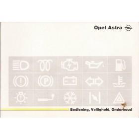 Opel Astra A Instructieboekje   Benzine Fabrikant 92 met gebruikssporen   Nederlands