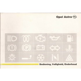 Opel Astra A Instructieboekje   Benzine Fabrikant 93 ongebruikt   Nederlands