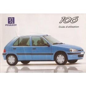 Peugeot 106 Instructieboekje   Benzine/Diesel Fabrikant 97 ongebruikt   Frans