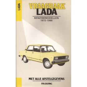 Lada 1200/1300/1500/1600 Vraagbaak P. Olving  Benzine Kluwer 72-88 nieuw   Nederlands