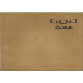 Peugeot 604 V6 SL Instructieboekje   Benzine Fabrikant 76 ongebruikt   Nederlands/Duits/Frans/Italiaans
