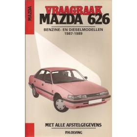 Mazda 626 Vraagbaak P. Olving  Benzine Kluwer 87-89 nieuw   Nederlands