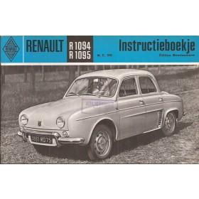 Renault Dauphine Instructieboekje   Benzine Fabrikant 65 ongebruikt   Nederlands