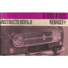 Renault 4 Instructieboekje   Benzine Fabrikant 67 met gebruikssporen   Nederlands