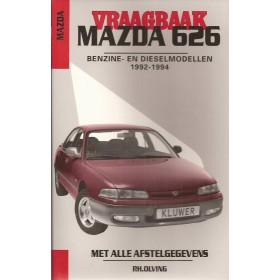Mazda 626 Vraagbaak P. Olving  Benzine Kluwer 92-94 nieuw   Nederlands