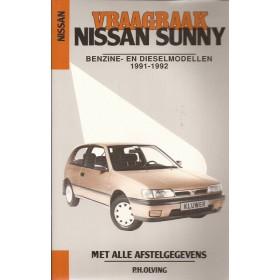 Nissan Sunny Vraagbaak P. Olving Benzine/Diesel Kluwer 1991-1992 nieuw ISBN 90-201-2751-9 Nederlands 1991 1992