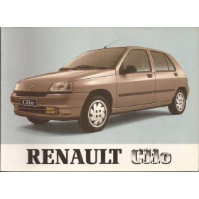 Renault Clio Instructieboekje   Benzine Fabrikant 91 ongebruikt   Nederlands