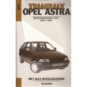 Opel Astra A Vraagbaak P. Olving  Benzine Kluwer 91-93 nieuw   Nederlands