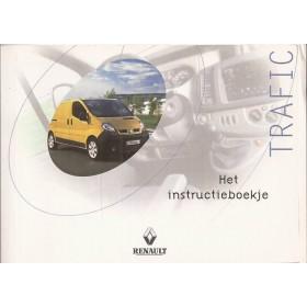 Renault Trafic Instructieboekje  model X83 Benzine/Diesel Fabrikant 00 met gebruikssporen   Nederlands