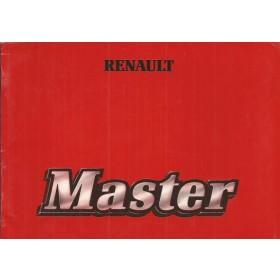 Renault Master Instructieboekje   Benzine/Diesel Fabrikant 81 ongebruikt   Nederlands