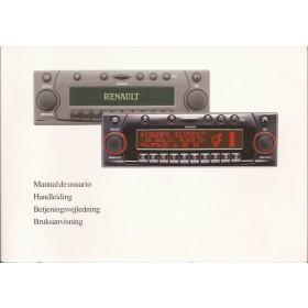 Renault Navigatie Harman/Becker Instructieboekje Benzine/Diesel Fabrikant 2001 ongebruikt Nederlands