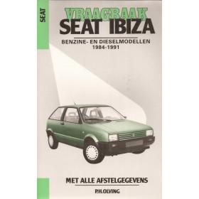 Seat Ibiza Vraagbaak P. Olving  Benzine/Diesel Kluwer 84-91 nieuw   Nederlands