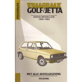 Volkswagen Golf/Jetta Vraagbaak P. Olving  Diesel Kluwer 80-84 nieuw   Nederlands