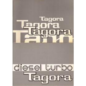 Talbot Tagora Instructieboekje   Benzine/Diesel Fabrikant 81 ongebruikt met dieselsupplement  Nederlands
