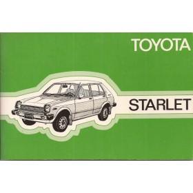 Toyota Starlet Instructieboekje  Mk1 Benzine Fabrikant 78 ongebruikt   Nederlands