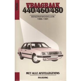 Volvo 440/460/480 Vraagbaak P. Olving  Benzine Kluwer 86-91 nieuw   Nederlands