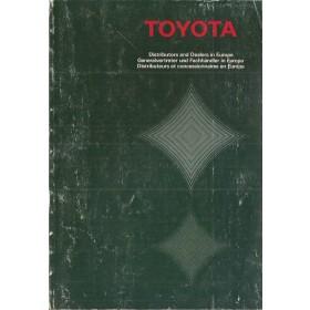Toyota  Dealerlijst  Europa  Fabrikant 87 met gebruikssporen   Nederlands