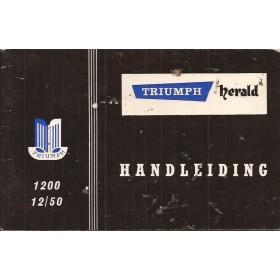 Triumph Herald Instructieboekje   Benzine Fabrikant 66 ongebruikt   Nederlands