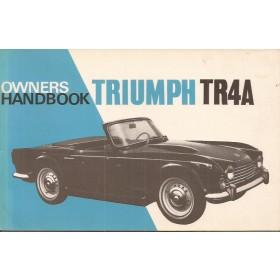 Triumph TR4A Instructieboekje   Benzine Fabrikant 66 ongebruikt   Engels