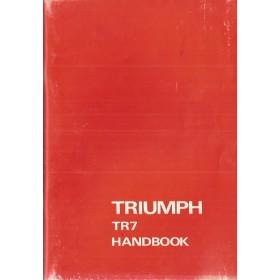 Triumph TR7 Instructieboekje   Benzine Fabrikant 75 ongebruikt   Engels