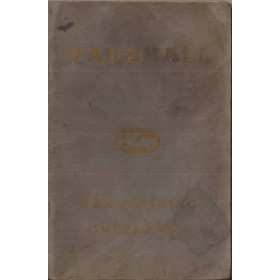 Vauxhall Wyvern/Velox Instructieboekje   Benzine Fabrikant 52 met gebruikssporen vochtschade  Nederlands